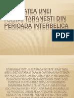 Activitatea Familiei Taranesti Din Perioada Interbelica