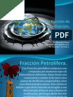 Caracterización de una fracción de petróleo por su