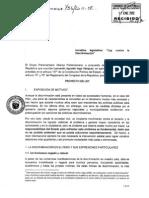 """Proyecto de """"Ley de Promoción de la Igualdad y la no Discriminación"""""""