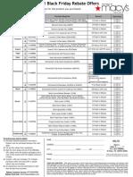 Black Friday Rebate Form 11.23.11