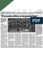 Artículo El Nacional (Arbitraje)