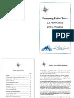 La Plata Ethics Handbook 2012