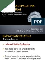 BARRA TRANSPALATINA DRS