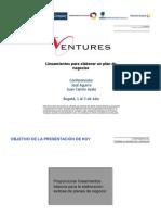 01 - Planes de Negocio Ventures