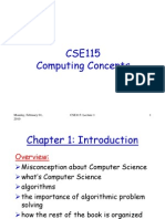 Csc115 Chapter 1