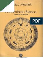 Meyrink Gustav El Dominico Blanco