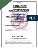 Tecnologias Electroquimicas en Medio Ambiente