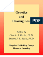 Genetics Hearing Loss