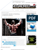 Complete Guide to Building a Massive Back! _ Cut and Jacked