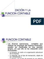 Organizacion y La Funcion Contable Clase 3