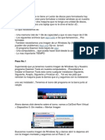 Como Formatear Con USB y Xp