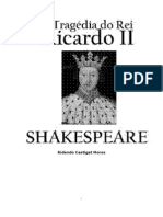 William Shakespeare - (trágedia) A tragédia do rei Ricardo II