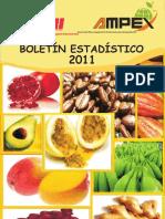 Boletin Estadistico Del 2011