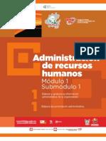 Guía Formativa, ADMINISTRACIÓN DE RECURSOS HUMANOS 11, 2012 CECyTEH, Gobierno Hidalgo