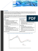 Vacancy Report March 2012