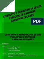 2 CONCEPTO Y SEMIOGRAFIA DE LOS PRINCIPALES SÍNTOMAS CARDIOVASCULARES
