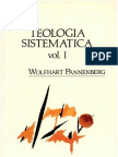Wolfhart Pannenberg - Teologia Sistematica