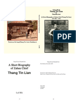 A Short Biography of Zahau Chief Thang Tin Lian by Lal Bik