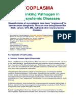 060 Mycoplasma Linking Pathogen
