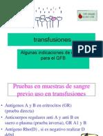 TRANFUSIONES
