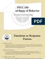 PSYC550 Emotions and Memory