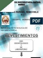 PROTESIS REMOVIBLE II