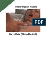 Female Orgasm Report