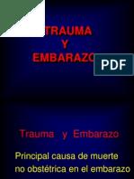 Trauma en Embarazo
