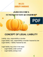 Concept of Legal Liability-Introduction(1)