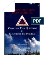 44572478 Objective Type Questions in Electrical Engineering