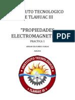 PROPIEDADES ELECTROMAGNETICAS