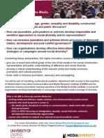 Ma Diversity & the Media Poster