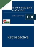 Apresentação Prof Forcelini - Sugestão de Manejo