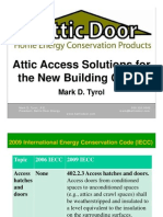 Battic Door New Attic Access Building Codes