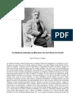 Vocabulariu asturianu na lliteratura de José María de Pereda