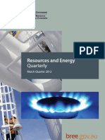 BRE Resources & Energy Quarterly (March 2012)