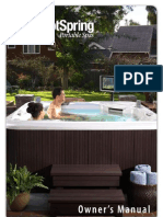 Hot-spring Spas Owners Manual 2010