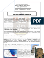 PRACTICA Nº 1 – 2º DE SECUNDARIA  - HISTORIA -