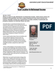 Robert Feinholz - The Importance of Asset Location in Retirement Income Planning