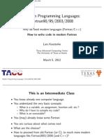 Fortran Class