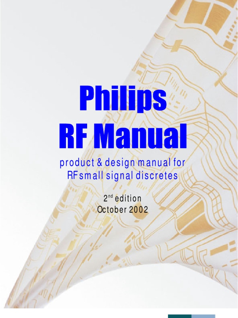 Philips RF Manual 2nd Edition | Antenna (Radio) | Electrical Impedance