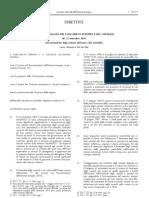 Direttiva Europea Sulla Protezione Degli Animali a Fini Scientifici