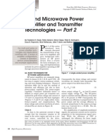 RF Power Amplifier and Transmitter Technologies Part2