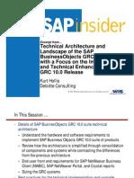 GRC2012 KurtHollis Technical Architecture EXCERPT