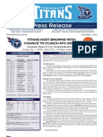 Browns-Titans Media Notes (from Titans)