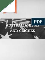 Australianisms and Clichés