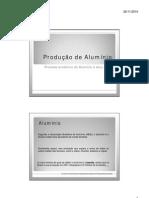 Microsoft PowerPoint - produção de alumínio