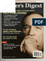 James Patterson Cover Story March 2009 Writers Digest