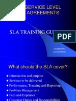 SLA - Training Guide 1.0