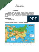 Guía de estudio rev. rusa (1)